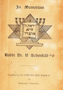 v schonfeld 1930