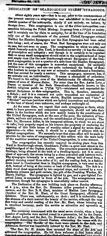 Scarborough Street Sep 20 1872